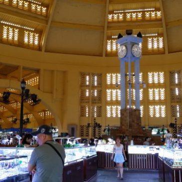 Sihanoukville – Phnom Penh: El Mercado Central