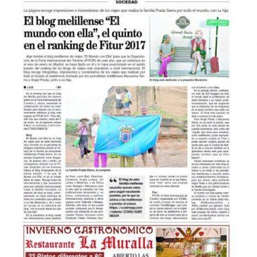 Vota EL MUNDO CON ELLA en FITUR 2017