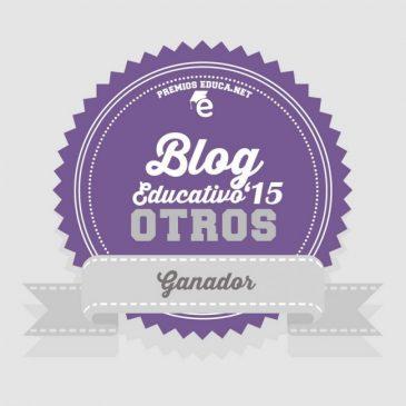 El mundo con ella gana en los Premios Educa 2015