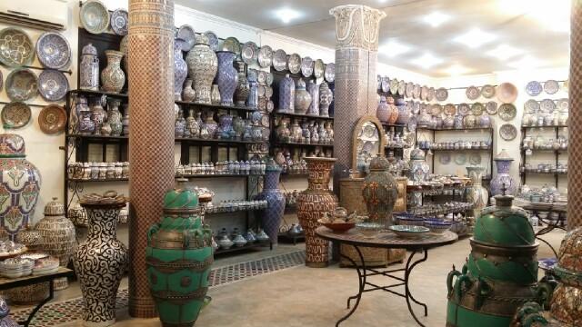 Curiosidades: La cerámica de Fes
