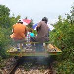 Battambang: Tren de Bambú y Bat Cave