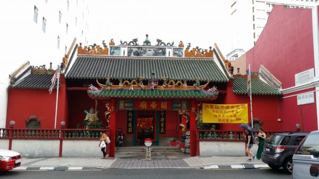 Templo Chino en Chinatown