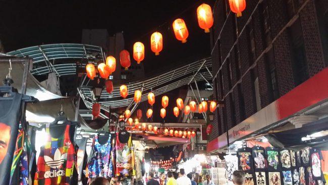 Ambiente nocturno Kuala Lumpur