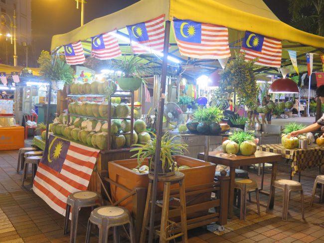 Puestos callejeros Kuala Lumpur
