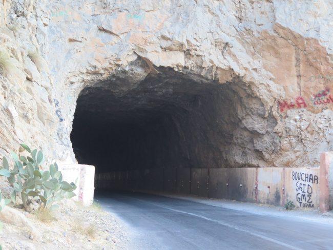 Túnel entre Midelt y Errachidía