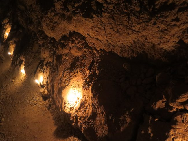 Iluminación canales del desierto
