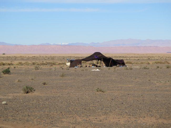Cabaña nómada