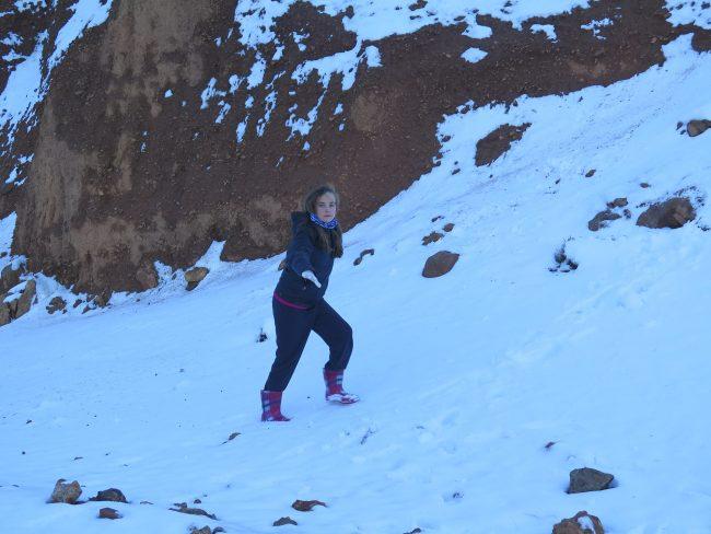 Nieve en Marruecos