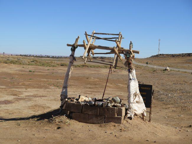 Pozo en el desierto