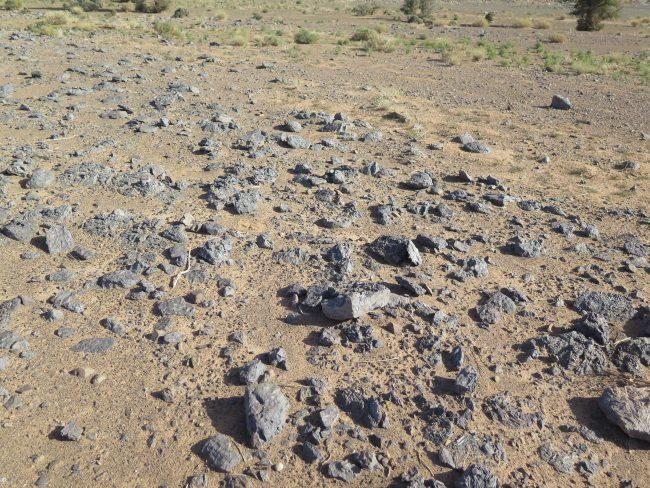 Minas de fósiles