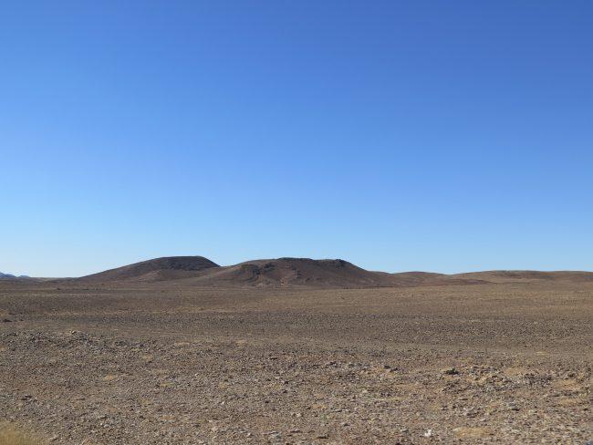 Desierto pedregoso del Sáhara