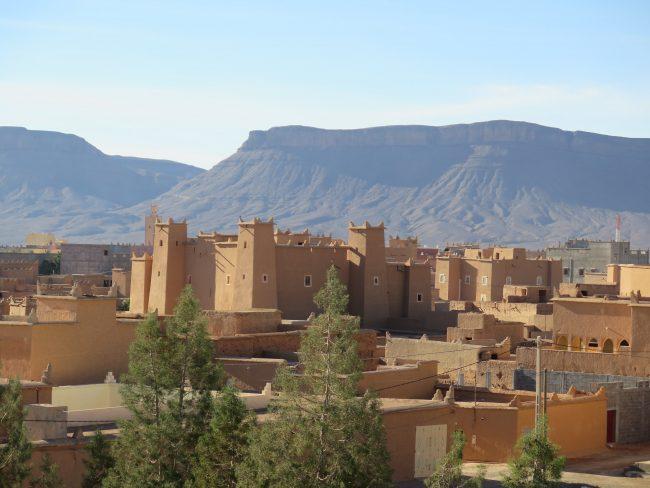 Nkob alberga la mayor concentración de kasbahs de Marruecos