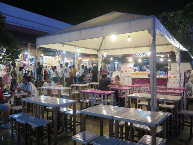 Ambiente nocturno Bangkok