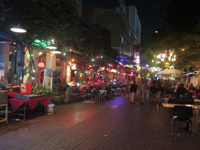 Sitios para cenar en Bangkok