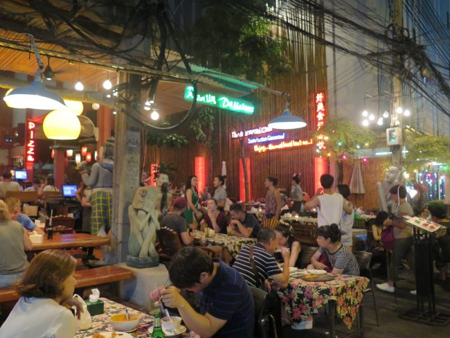 Restaurante en Rambutri Street