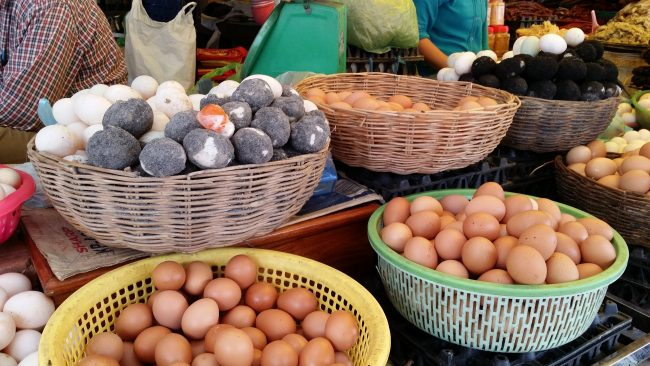 Huevos de Asia