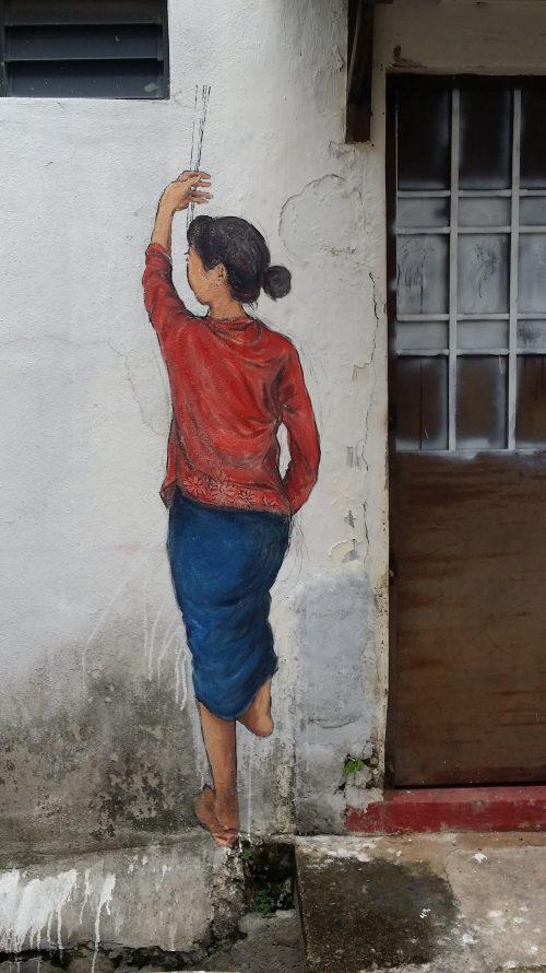 Arte urbano de Malasia