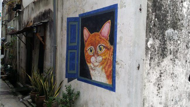 La mayor concentración de arte urbano de Malasia