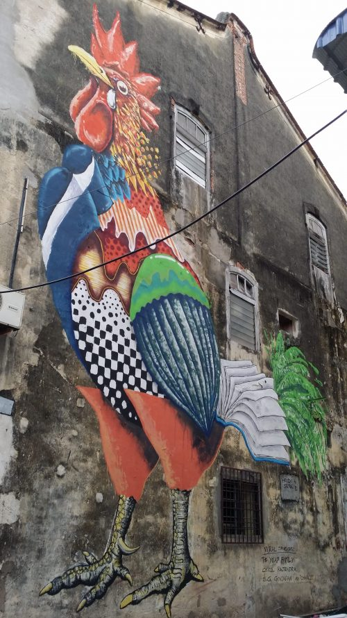 Colosales murales callejeros