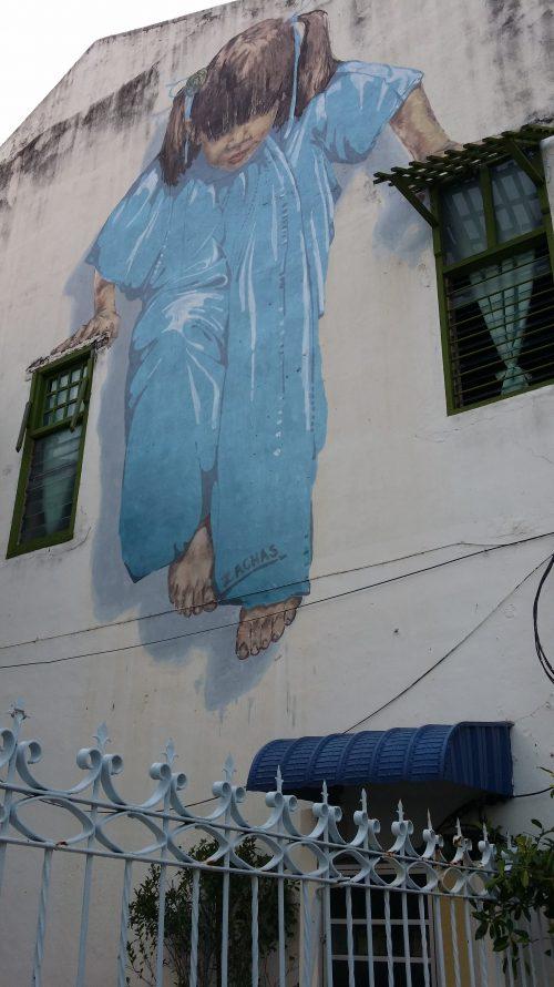 Impresionantes murales de Georgetown