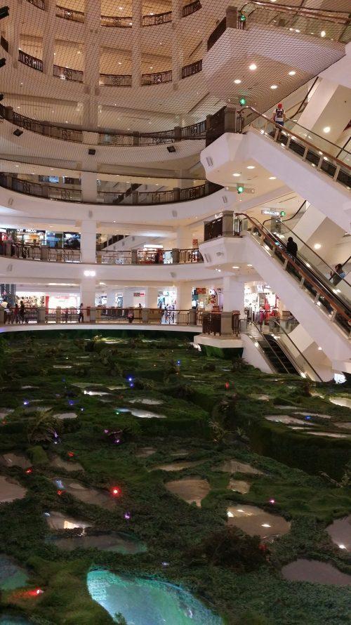 Centro Comercial de Kuala Lumpur con Parque de Atracciones