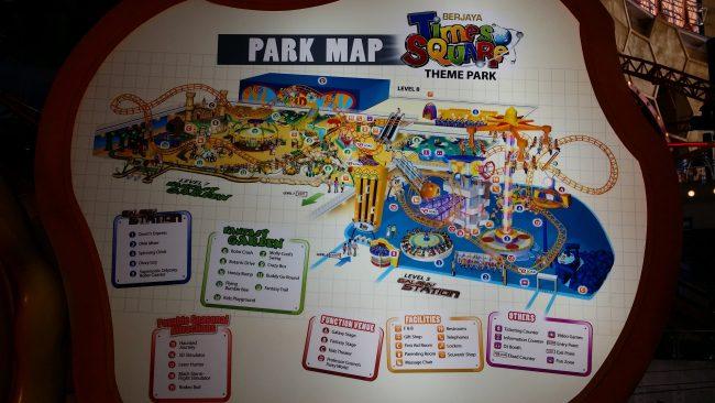 Parque de Atracciones en el Centro de Kuala Lumpur