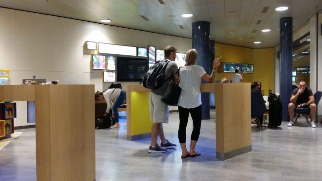 Salas de Fumadores en Aeropuertos Internacionales
