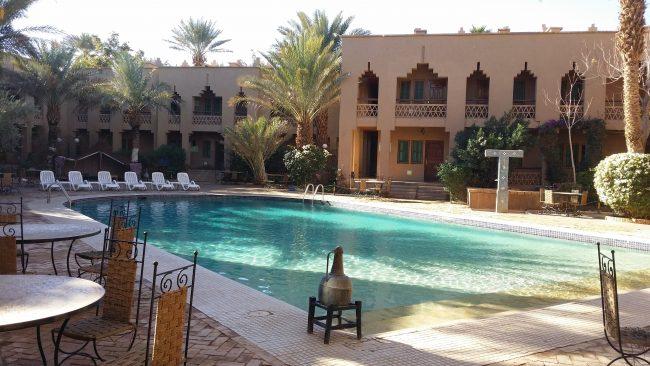 Piscina del Hotel Erfoud Le Riad