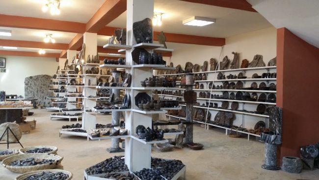 Tienda de fósiles en Erfoud