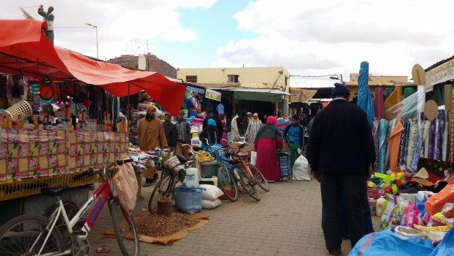Mercado de Erfoud