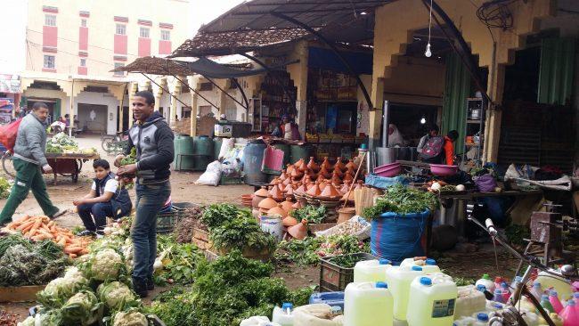 Vendedor de verduras