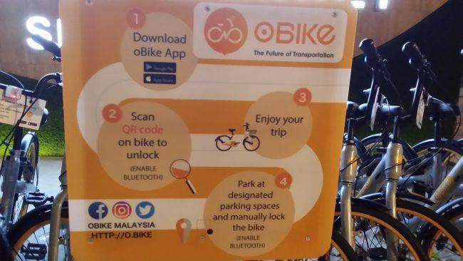 Alquiler de bicicletas en Malasia
