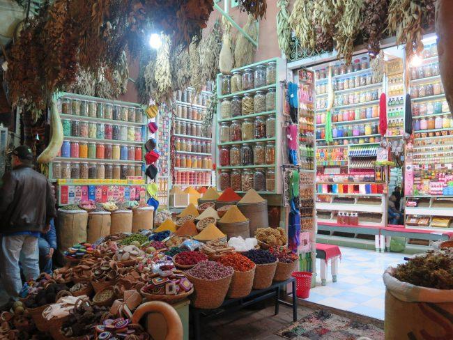 Tiendas Marrakech