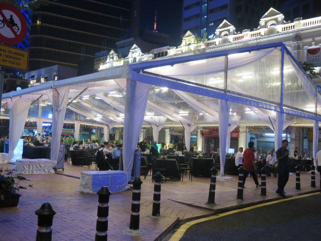 Carpas en Kuala Lumpur