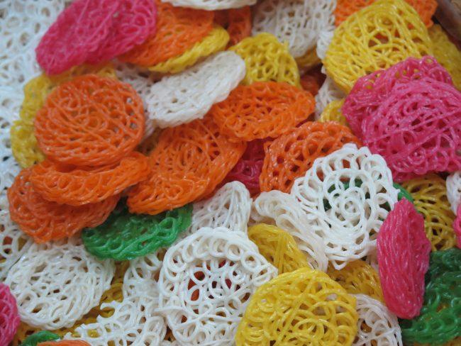 Bonitas pastas de colores