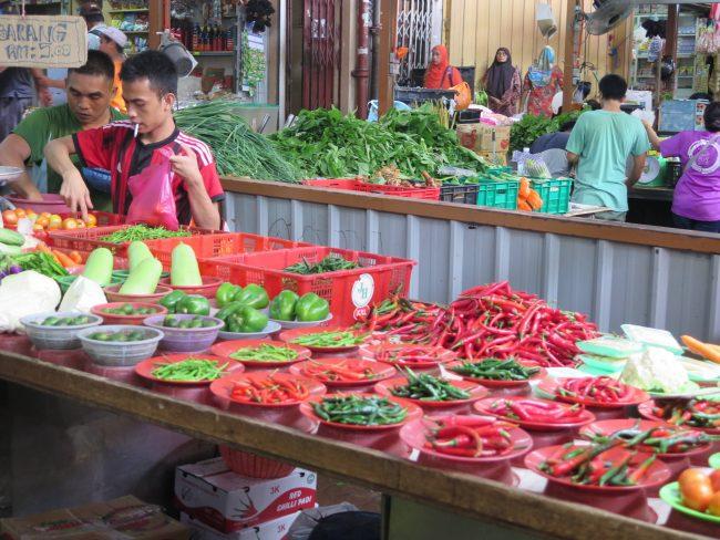 Mercados típicos de Malasia