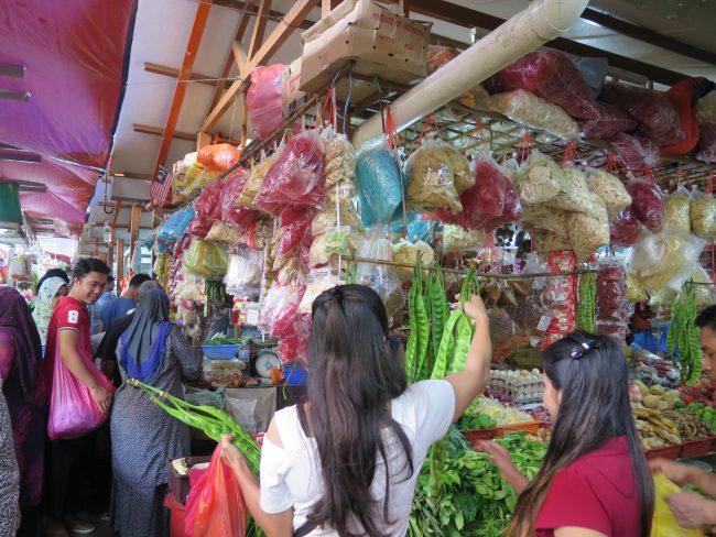 Mercados locales de Malasia