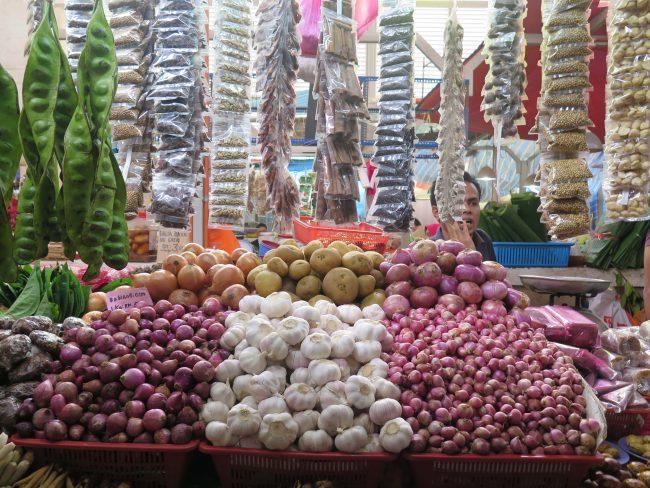 Verduras de Asia