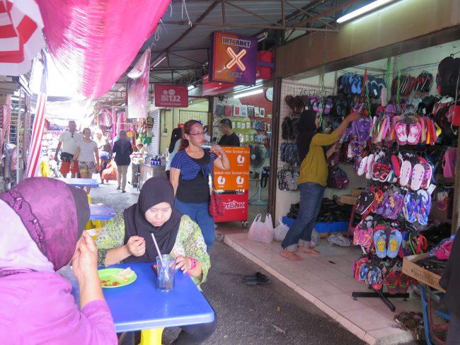 Puestos callejeros de Malasia