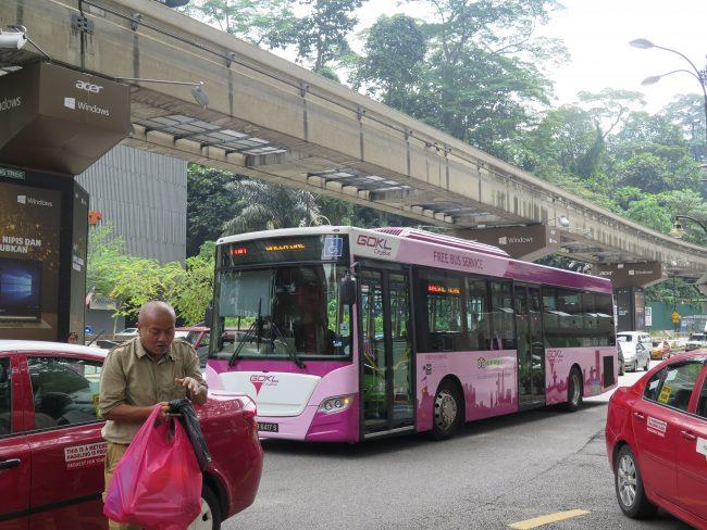 Autobuses Gartuitos de Kuala Lumpur