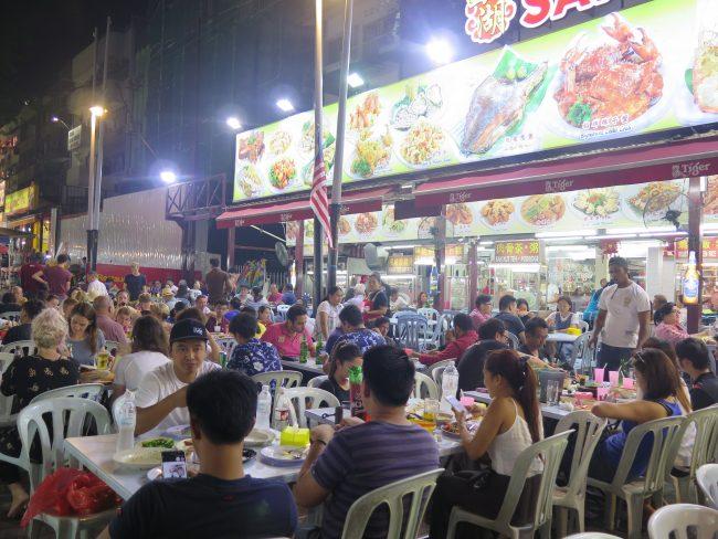 Cenas baratas en Kuala Lumpur