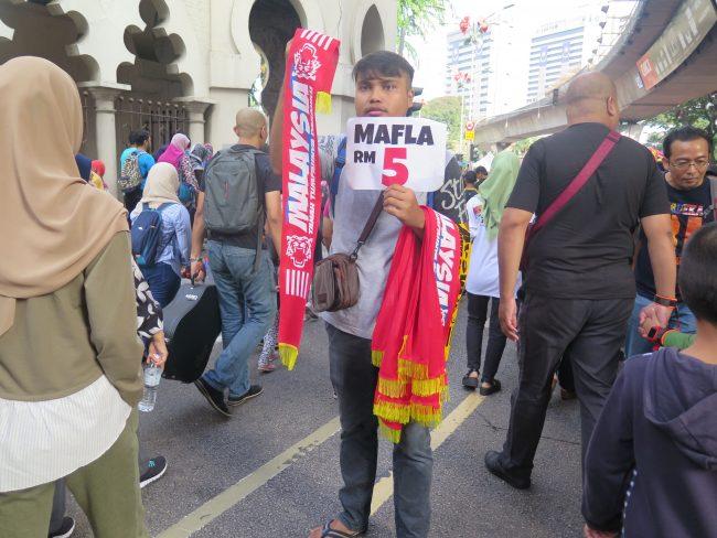 Vendedores en Kuala Lumpur