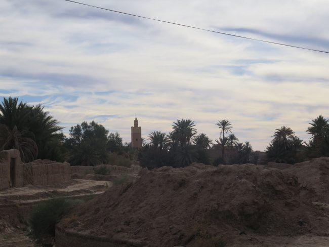 Ksar trasero al Mausoleo de Moulay Ali Cherif