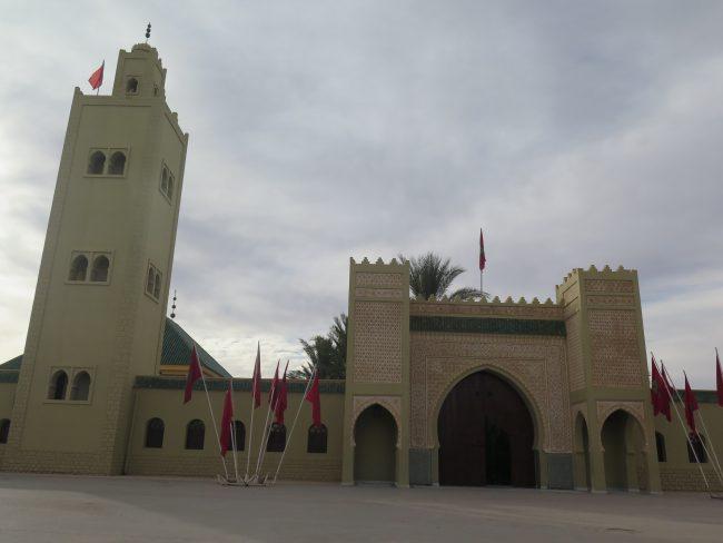 Fachada del Mausoleo de Moulay Ali Chreif