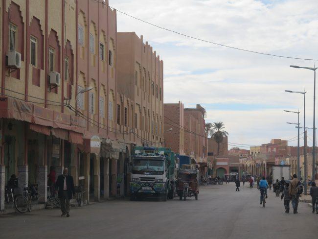 Calle principal de Rissani