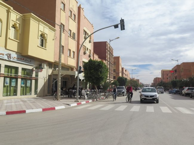 Calle principal de Erfoud