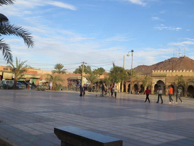 Plaza principal de Erfoud