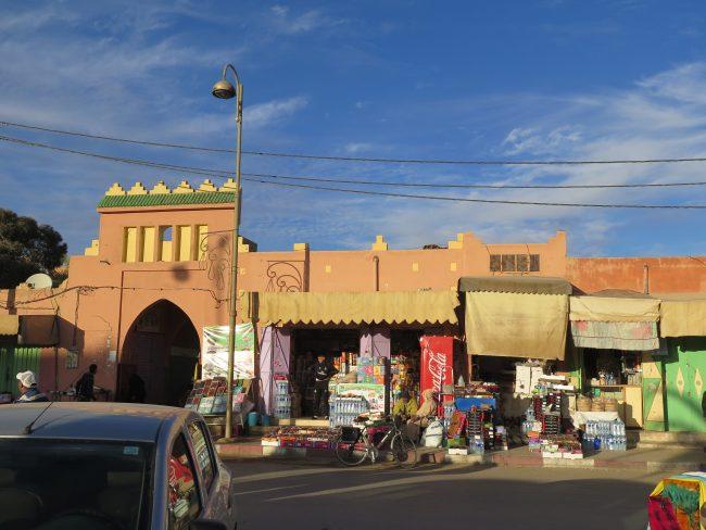 Entrada al mercado de Erfoud