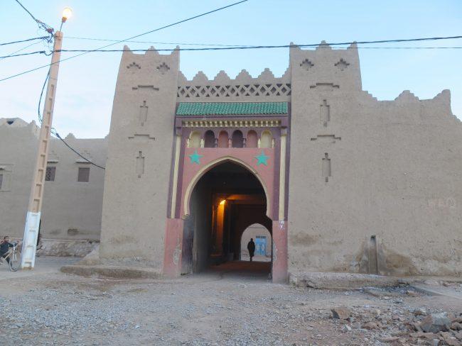 Entrada al ksour Maadid