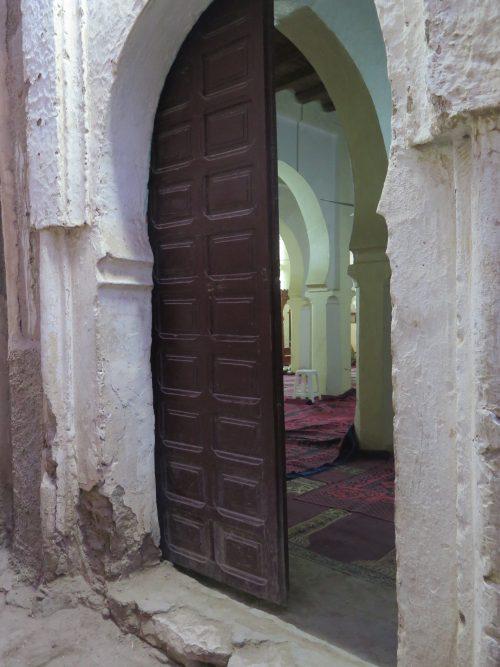 Sala de rezos en una mezquita